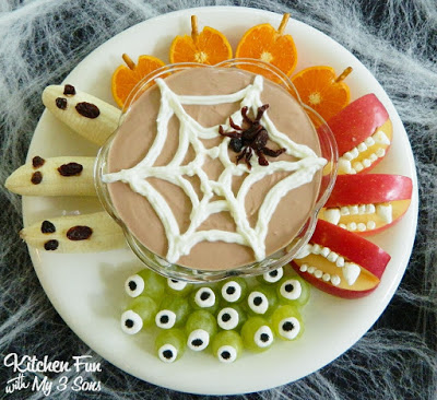Halloween Fruit Dip Snacks_PM